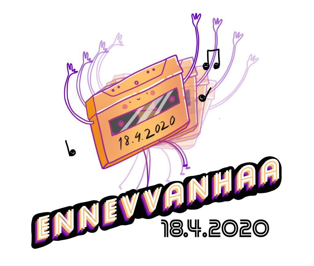 ennevvanhaa-kisan tanssiva c-kasetti